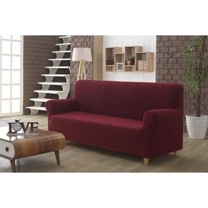 Чехол для трехместного дивана Karna Roma бордовый (2689/CHAR002)