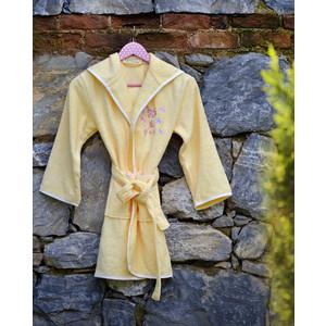 Халат детский Pupilla бамбук с вышивкой Young желтый 9-11 Лет (2951/CHAR002)