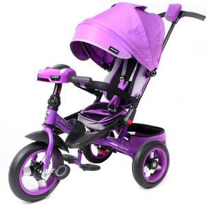 Велосипед трехколесный Moby Kids с разворотным сиденьем Leader 360° 12x10 AIR Car (641073)