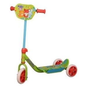 лучшая цена Самокат 2-х колесный Moby Kids Мечта зеленый 641147