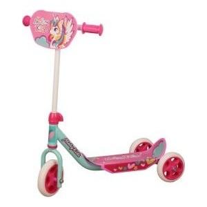 лучшая цена Самокат 2-х колесный Moby Kids Мечта розовый 641149