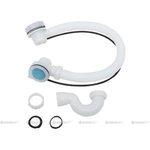 Слив-перелив для ванны Aquanet с сифоном, 78 см (187832 / 172979)