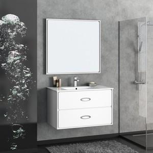 Мебель для ванной Smile Монтэ 90 белый зеркало smile монтэ 90 светло серый z0000012243