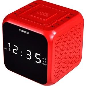Радиоприемник TELEFUNKEN TF-1571 красный радиоприемник telefunken tf 1571