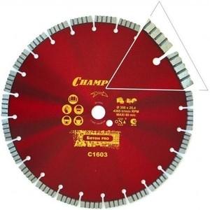 Диск алмазный Champion Pro 500/25.4/10/4 Concremax (C1627) весы trout pro fisherman champion 10