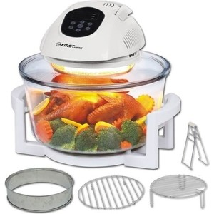 Аэрогриль FIRST FA 5030-2 White gfgril gfa 2600 air fryer compact white аэрогриль