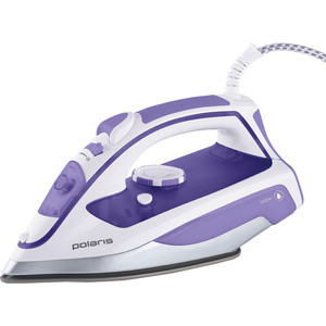 Утюг Polaris PIR2469K фиолетовый цена и фото