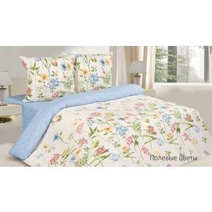 Комплект постельного белья Ecotex Евро, поплин, Полевые цветы (4650074953076)