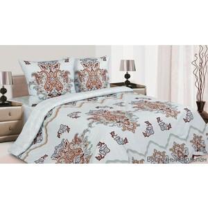 Комплект постельного белья Ecotex Евро, поплин, Восточный тюльпан (4650074953540)