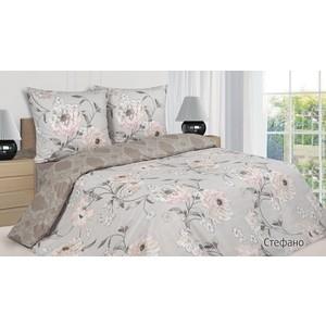 Комплект постельного белья Ecotex Евро, поплин, Стефано (4650074953007)