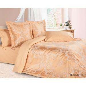 цена Комплект постельного белья Ecotex 2-х сп, сатин-жаккард, Николетта (4680017869645) онлайн в 2017 году