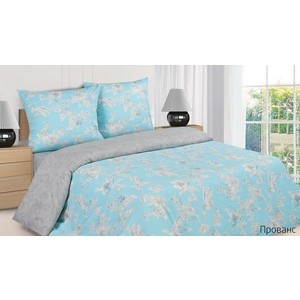 цена Комплект постельного белья Ecotex Семейный, поплин, Прованс (4650074955636) онлайн в 2017 году