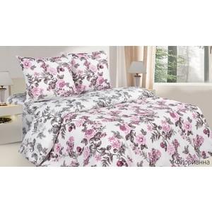 цена Комплект постельного белья Ecotex Семейный, поплин, Флорианна (4650074955513) онлайн в 2017 году