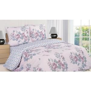 цена на Комплект постельного белья Ecotex Семейный, поплин, Шанталь (4650074955391)