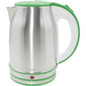 Чайник электрический Gelberk GL-326 зеленый блендер gelberk gl 513