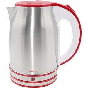 Чайник электрический Gelberk GL-327 красный блендер gelberk gl 513