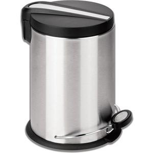 Ведро-контейнер для мусора (урна) с педалью Лайма Modern 12л матовое, нержавеющая сталь 232264