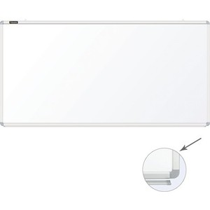 Доска магнитно-маркерная BRAUBERG Premium 90x180 см алюминиевая рамка 231716