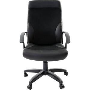 Кресло офисное Brabix Trust EX-535 экокожа черная ткань TW 531384