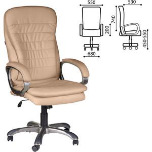 Кресло офисное Brabix Omega EX-589 экокожа песочное 531402