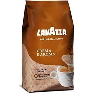 Кофе в зернах Lavazza Crema e Aroma 1000 beans, вакуумная упаковка, 1000гр