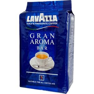 Кофе в зернах Lavazza Gran Aroma Bar 1000 beans, вакуумная упаковка, 1000гр hausbrandt кофе в зернах гурмэ 1 кг вакуумная упаковка 560 hausbrandt