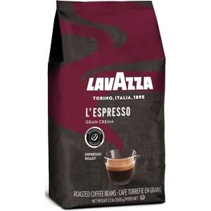 Кофе в зернах Lavazza Gran Crema Espresso 1000 beans, вакуумная упаковка, 1000гр