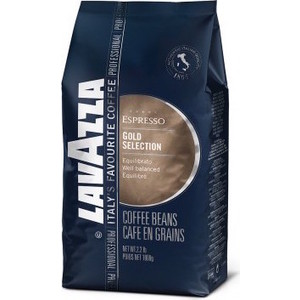 Кофе в зернах Lavazza Gold Selection Bag 1000 beans 1000гр