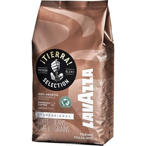 Кофе в зернах Lavazza Tierra Intenso Bag 1000 beans цена 2017