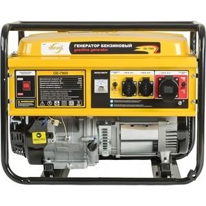 Генератор бензиновый DENZEL GE 7900 генератор бензиновый ge 7900e 6 5 квт 220в 380 50гц 25 л электростартер denzel 94685