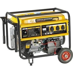 Генератор бензиновый DENZEL GE 6900E генератор бензиновый ge 7900e 6 5 квт 220в 380 50гц 25 л электростартер denzel 94685