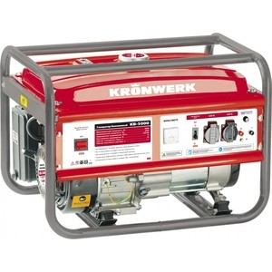 Генератор бензиновый KRONWERK KB 5000 бензиновый генератор zongshen kb 5000e 1t90df501