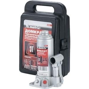 Домкрат гидравлический бутылочный Matrix 3т 194-372мм Master (50752)