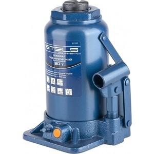 Домкрат гидравлический бутылочный Stels 20т 244-449мм (51111)