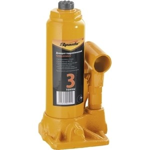 Домкрат гидравлический бутылочный SPARTA 3т 180-340мм (50322) домкрат гидравлический бутылочный sparta телескопический 3т 50342