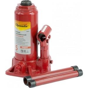 цена на Домкрат гидравлический бутылочный SPARTA 5т 180-340мм Compact (50333)