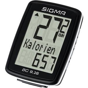 цена на Велокомпьютер Sigma BC 9.16,09160,11 функций, проводной,черный
