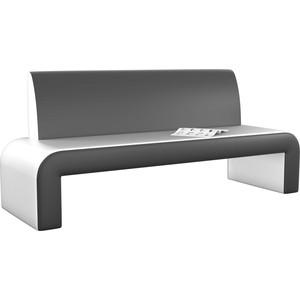 Кухонный диван Мебелико Кармен эко-кожа бело-черный кармен 2019 05 29t19 00