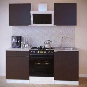 Кухня СОКОЛ ПН-06 белый/венге + ТК-06.1 белый/венге + ПН-06 белый/венге + ТК-06м белый/венге aquaton логика 110 венге белый