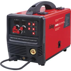 Инверторный сварочный полуавтомат Fubag INMIG 200 SYN PLUS +горелка FB 250 3м (38644.1) инверторный сварочный полуавтомат fubag inmig 500t dw syn pulse