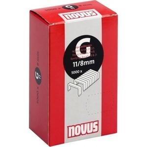 Скобы для степлера Novus 11/8 5000шт (042-0528) цена