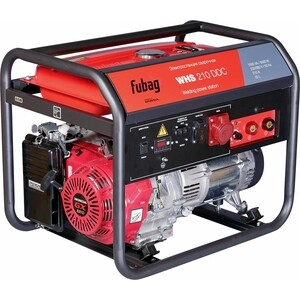 Генератор бензиновый сварочный Fubag WHS 210 DDC