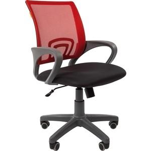 Офисноекресло Chairman 696 серый пластик TW-12/TW-69 красный