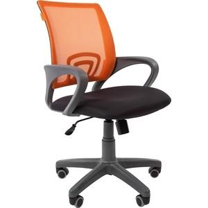 Офисноекресло Chairman 696 серый пластик TW-12/TW-66 оранжевый