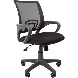 Офисноекресло Chairman 696 серый пластик TW-12/TW-04