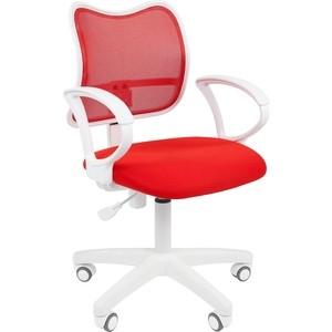 Офисноекресло Chairman 450 LT белый пластик TW-19/TW-69 красный