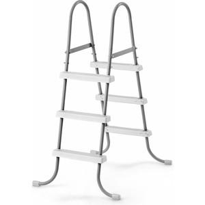 Лестница для бассейнов Intex до 107 см 3 ступеньки без площадки с защитой 28075