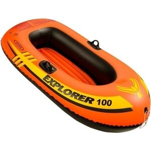 Лодка надувная Intex Explorer 100 (до 55кг) 147x84x36 см 58329 цена