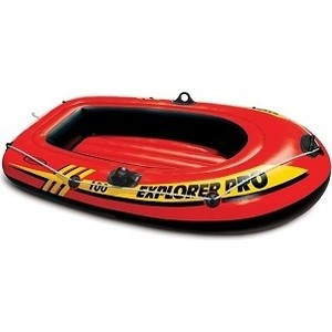 Лодка надувная Intex Explorer Pro 100 (до 80кг) 160х94х29 см 58355 лодка altair pro 385 airdeck