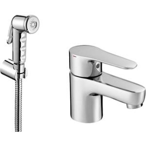 Смеситель с гигиеническим душем Jacob Delafon July (E16319-4-CP) смеситель для ванны jacob delafon july e16031 4 cp